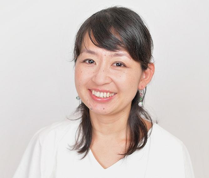 竹田 綾先生の顔写真