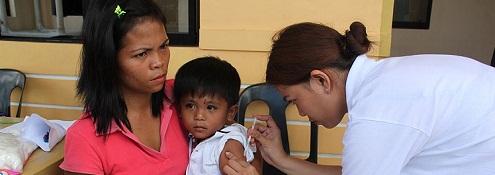 Providing vaccine small