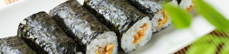 「納豆巻き」はがんに良くて寿命も延びる!?その秘密は海苔と納豆のビタミンKに!の画像